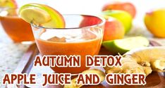 Here exclusively your Health Crew reveals to you the recipe for a refreshing autumn detox elixir of apples, ginger, chia seeds, limes and mint. Apple Juice, Chia Seeds, Detox, Limes, Fruit, Apples, Health, Recipes, Autumn