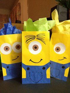 Despicable Me DIY goodie bags