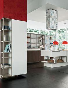 Orange Evolution by Snaidero   #design Michele Marcon #kitchen @snaiderocucine