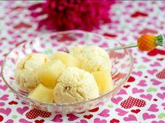 Ananas-rahkajäätelö - Reseptit