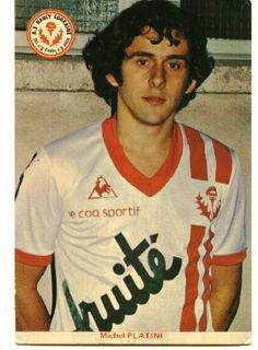 Michel Platini, AS Nancy Lorraine World Football, Football Jerseys, Football Players, Michel Platini, As Nancy, English Football League, Team Mascots, Most Popular Sports, Vintage Football