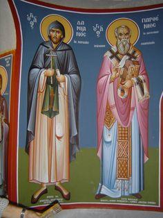 7 Fresco, Orthodox Icons, Great Words, Religious Art, Ikon, Saints, Religion, Greek, Spirituality