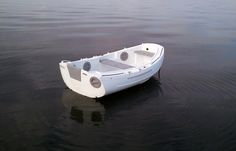 Jung's white portland pudgy dinghy