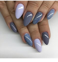 Pin by ginger anderson on nails jolis ongles, ongles, ongles vernis in yand Manicure Nail Designs, New Nail Designs, Manicure E Pedicure, Nails Design, Pedicure Designs, Manicure Ideas, Fall Pedicure, Gray Nails, Pink Nails