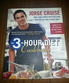 The 3-Hour Diet Cookbook by Jorge Cruise (2007, Soft cover)[ eBay $1.99 starting price