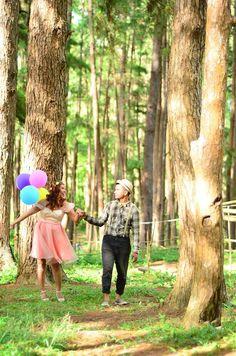 Pre Wedding E Sessions At Bucari Leon Pine Forest Iloilo Philippines