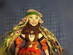 Duende de Octubre Princess Zelda, Fictional Characters, Elves, Fantasy Characters, October, Woods, Hand Made