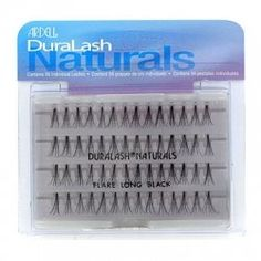 0d4bd595975 Ardell Naturals Long Black Funny Halloween Costumes, False Lashes, Long  Black, Ice Cube