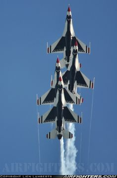 USAF Thunderbirds...........Performing in Oshkosh EAA July 28-August 3 2014.