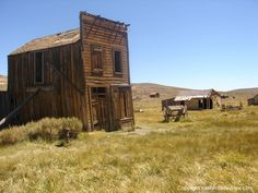The Swazey Hotel is one of the most photographed in buildings in this High Sierra ghost town.