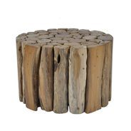 Tropica Round Woody Coffee Table, Medium