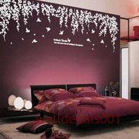 Vinyl wall decals  wall stickers tree decals  - Dream's garden