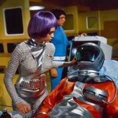 "Gabrielle Drake as Lieutenant Gay Ellis in the 1970 British Sci-Fi Series ""UFO"" Via: 1 Ufo Tv Series, Sci Fi Series, Science Fiction Series, Fiction Movies, Sf Movies, Beatles, Sci Fi Tv Shows, Space Girl, Space Tv"