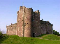 """Doon Castle in Scotland... (""""Castle Leoch"""" in the Outlander series)"""