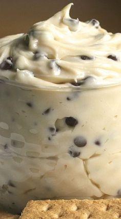Creamy Chocolate Chip Cookie Dough Dip