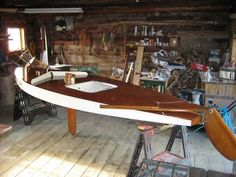 1961 Sunfish Sailboat -The way god intended boats to be made of! From Wood!