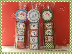 Pinnutty.com » Freebies Christmas Hershey Nugget Treat Tray Printables