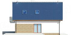 Elewacja lewa projektu Puk 3 Small Buildings, Outdoor Decor, House, Home Decor, Decoration Home, Home, Room Decor, Haus, Houses