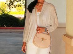 Chloe Drew bag, Lesouque necklace