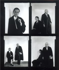 Arnold Neuman, Alfred Stieglitz and Georgia O'Keeffe