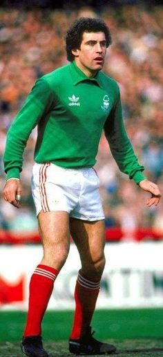 Peter Shilton - Nottingham Forest: A keeper for Forest at the time when they were still a force in English and European football.