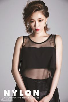 Ga In // Nylon Korea // August 2013