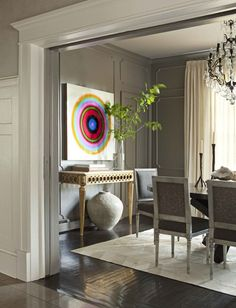 Beautiful & sophisticated paint color. Nam Dang-Mitchell Interiors | House & Home