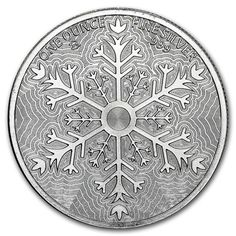 Christmas 2015 Silver Round High Relief Merry Christmas | Golden Eagle Coins