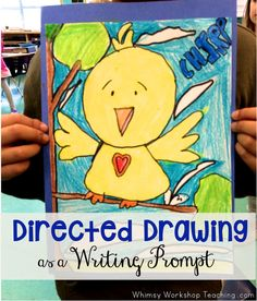 Looking for some No Prep ways to integrate art and literacy? Students use their own independently completed directed drawings as writing prompts! Read our list of ways to use directed drawing in the classroom and grab some free packs of step-by-step drawing and writing templates for your literacy centers.