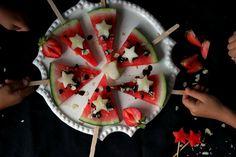 Formas divertidas para que los pequeños coman fruta.