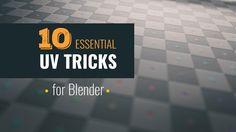10 Essential UV Tips and Tricks   Blender Tutorial