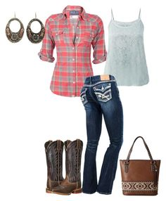 """Simple Day Look"" by lemcelfresh on Polyvore featuring Soul Cal, Gypsy SOULE, Ariat and M&F Western"