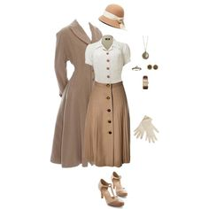 vintage outfits for women ~ vintage outfits ; vintage outfits for women ; 40s Mode, Retro Mode, Vintage Mode, Look Vintage, Vintage Hats, Vintage Outfits, Fashion Vintage, 1940s Outfits, Modern 50s Fashion