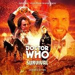 Doctor Who: Survival by Dominic Glynn - CD cover