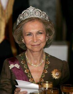 H.M. Queen Sofía of Spain.