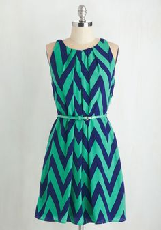 Great Wavelengths Dress in Jade, #ModCloth