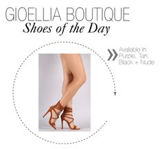"""""""Gioellia Boutique:  Shoes of the Day"""" by gioellia ❤ liked on Polyvore featuring Liliana"""