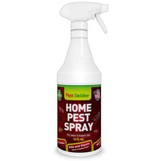 Pest Soldier Organic Home Pest Control Spray - Kills & Repels, Ants Best Mouse Trap, Mouse Traps, Best Pest Control, Bug Control, Pest Spray, Mice Repellent, Bees And Wasps, Pest Management, Humming Bird Feeders