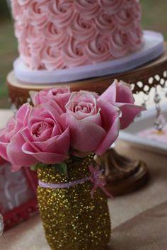 Pink & Gold Ballerina Birthday Party Ideas
