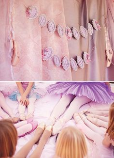 "Dreamy Pink ""Leap, Turn & Twirl"" Ballerina Party // Hostess with the Mostess®"