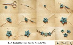 Free Pattern for Beaded Stars featured in Bead-Patterns.com Newsletter!