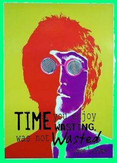 John Lennon quote- Definitely used for inspiration