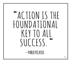 WORD: Action & Success -
