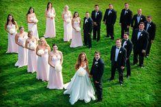 Ideas de fotos con los damos de la boda #bodas #ElBlogdeMaríaJosé #fotosboda…