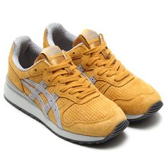 #OnitsukaTiger Tiger Alliance - Mustard/Grey #sneakers