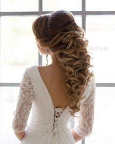 """"""" Wedding hair & makeup at @elstile   свадебная причёска и макияж в @elstile #elstile #эльстиль _______________________________________________________…"""""""