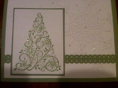 Card made at Stampin' Up Workshop - Christmas Tree