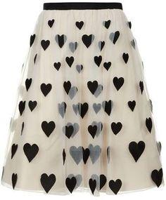 Alice + Olivia Catrina Embroidered Midi Skirt