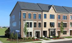 The South Lawn Collection by Miller & Smith - Brambleton, VA #architecture #newhomes #townhomes #luxurytownhomes