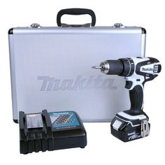 IDEABRIGHT LTD Description  MAKITA DHP456RMWX 18V LXT White Combi Drill (1x 4.0 Ah battery)  - More compact and lightweight design than BHP452 - More comfortable operation will be